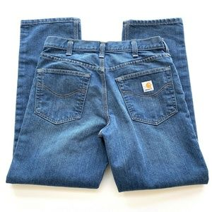 Carhartt Tradional Fit blue Jeans Mens Size 32 x30
